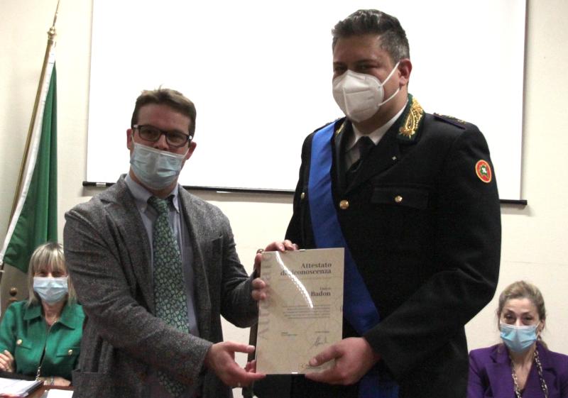 Alessandro Milani ed Enrico Badon