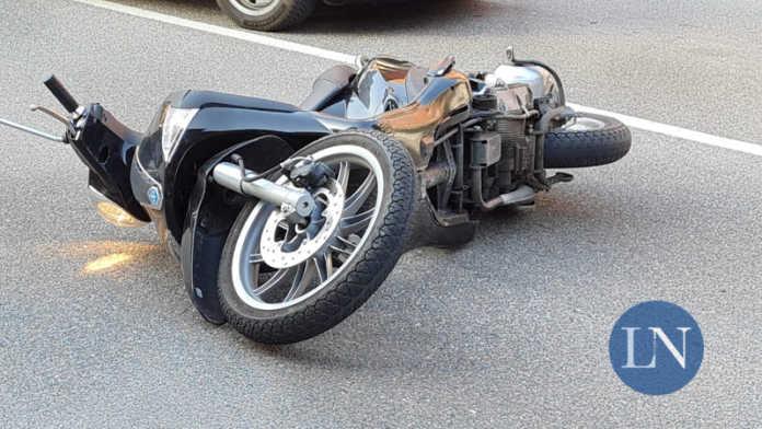 Moto Incidente Viale Adamello Lecco