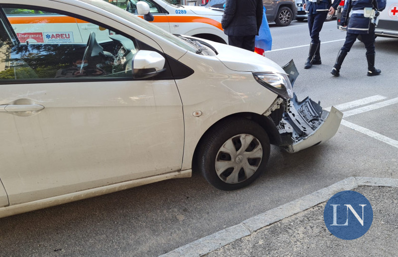 Incidente Viale Adamello Lecco