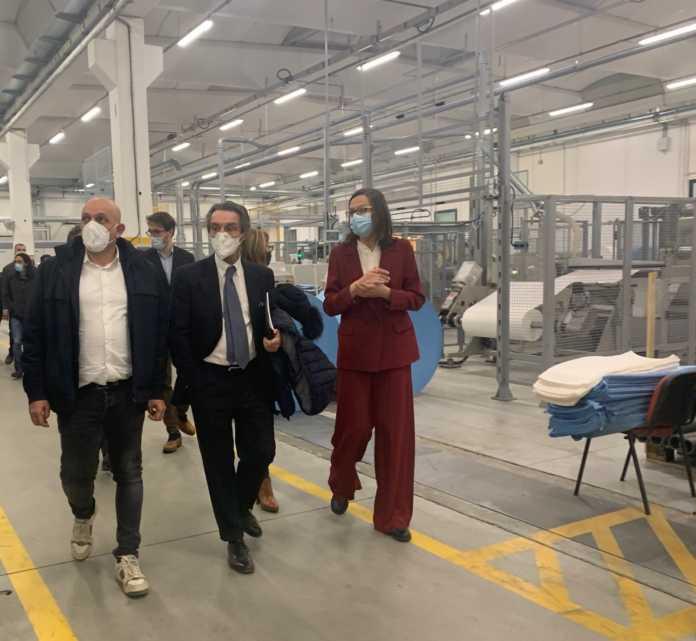 Massimo Sertori, Attilio Fontana e Monica Mortarotti
