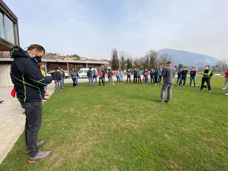 Corso accompagnatori di media montagna (Foto Collegio Guide alpine Lombardia)