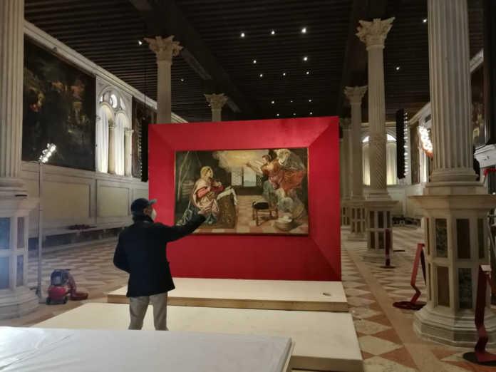 L'Annunciazione di Tintoretto in mostra a Venezia
