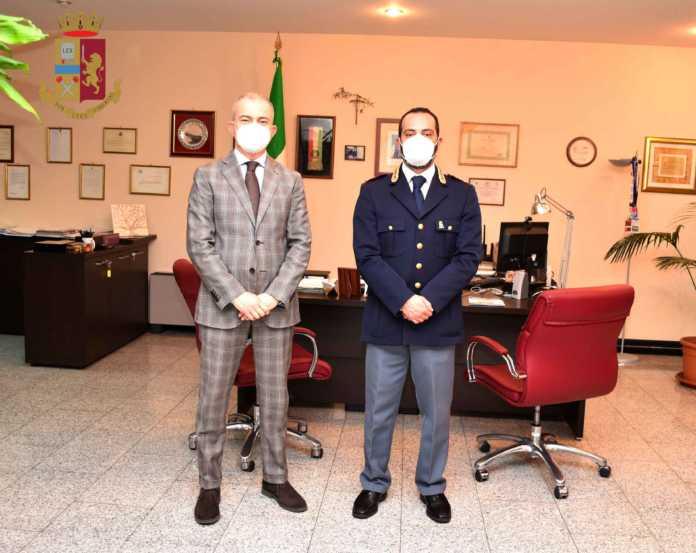 Alfredo D'Agostino Danilo Di Laura Questura Lecc