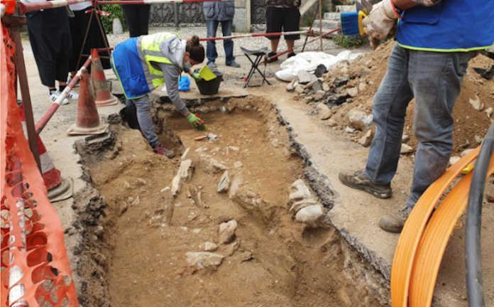 Resti archeologici a Olgiate Molgora