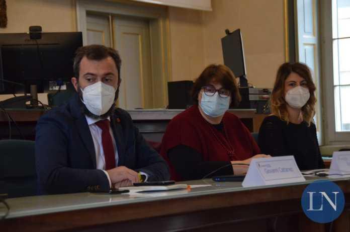 Gli assessori Giovanni Cattaneo e Renata Zuffi e il vice sindaco Simona Piazza