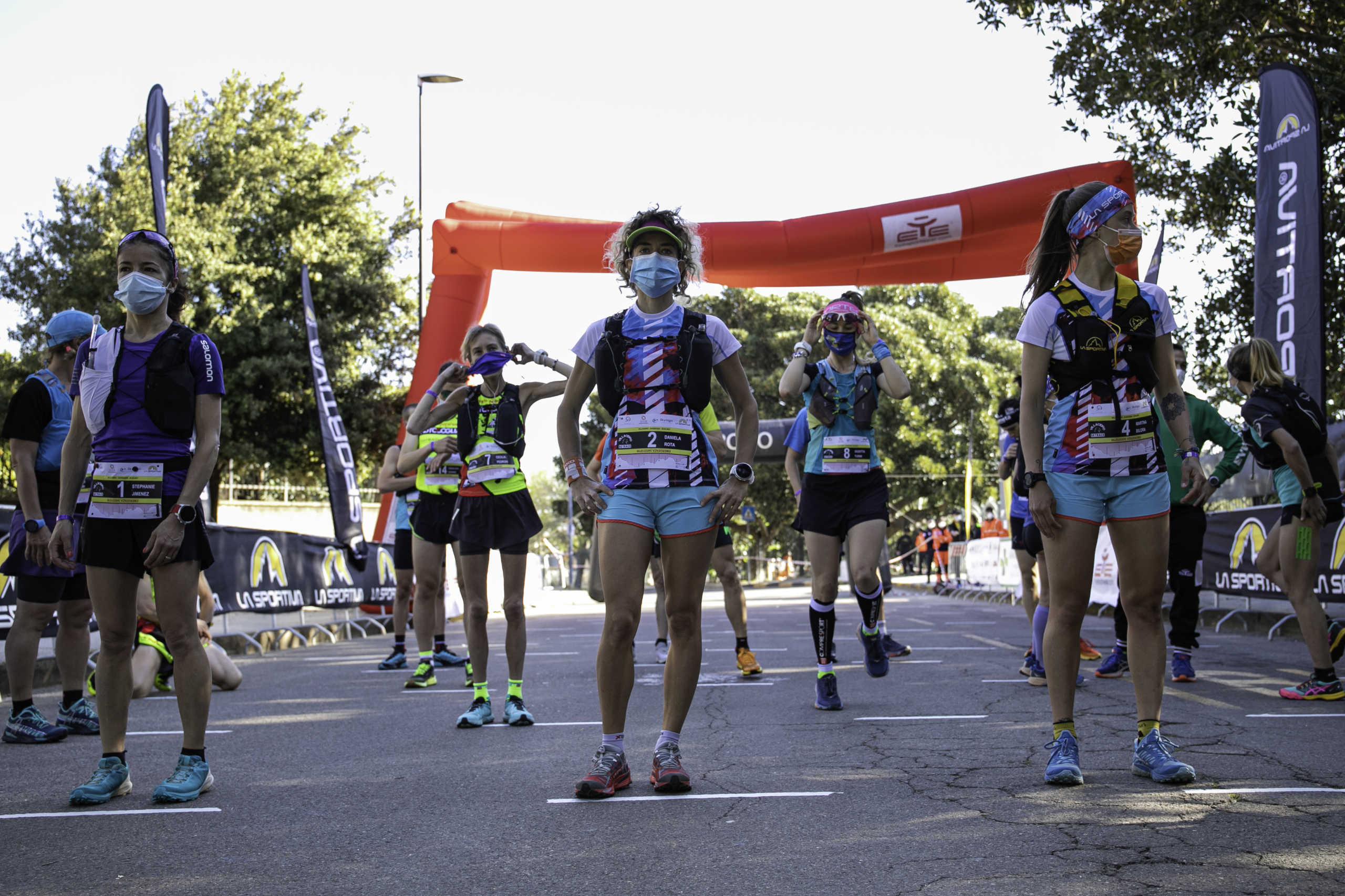 A destra, l'atleta del Gefo K Team di Olginate Martina Bilora (Ph credit Paolo Melis)