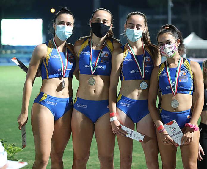 ATLETICA Lisa Galluccio, Clarissa Boleso, Alessia Gatti Veronica Besana