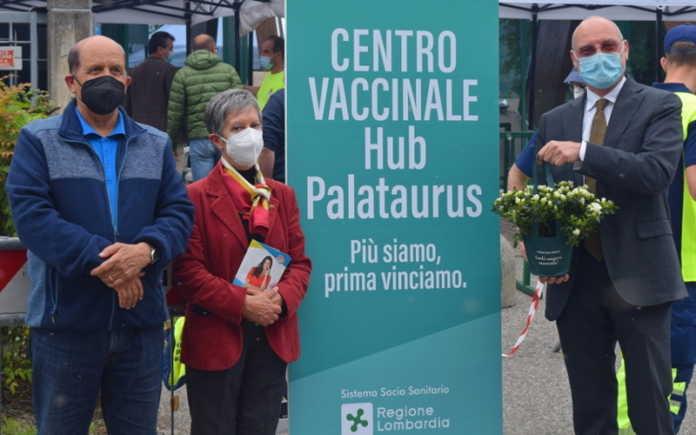 Angelo Fontana, Maristella Hoppler e il dottor Luca Sesana