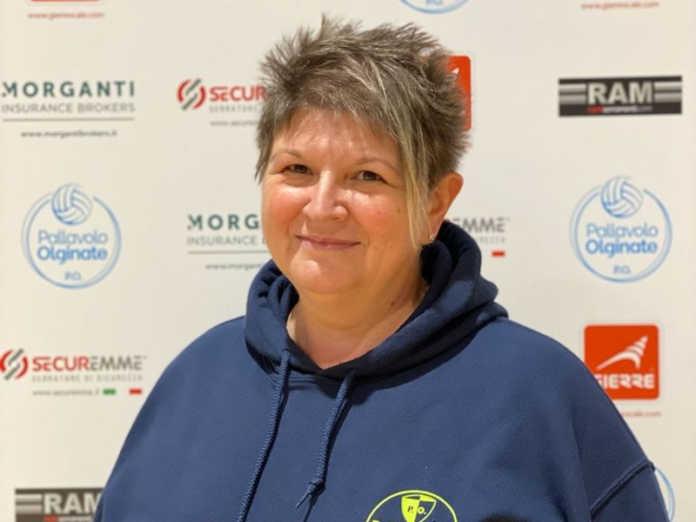 Cinzia Brambilla, presidente della Polisportiva Olginate