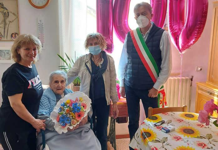 Clotilde Bresciani Calolzio 100 anni