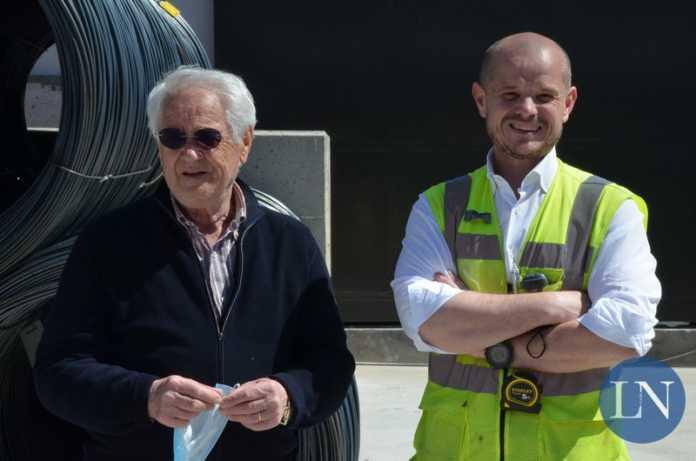 Giovanni Battista Beri e il figlio Andrea, rispettivamente presidente e amministratore delegato di Ita Spa