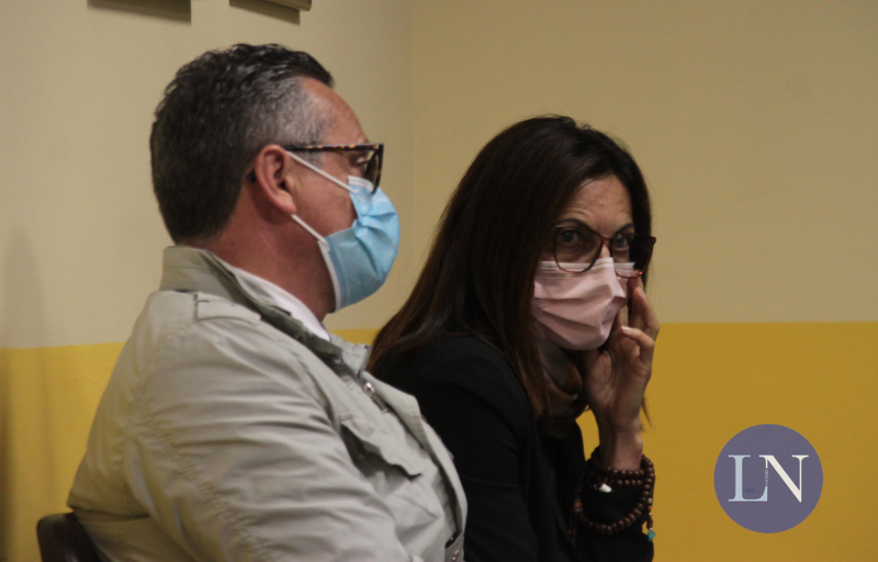 Raffaele Cesana e Anna Perego