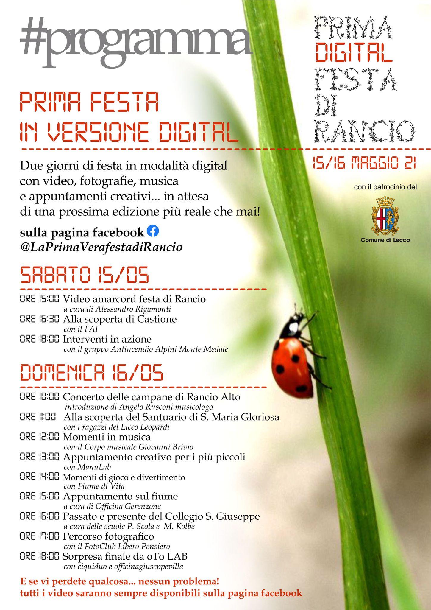 Prima Vera Festa 2021 Digital