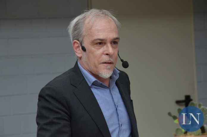 L'attore Alberto Bonacina