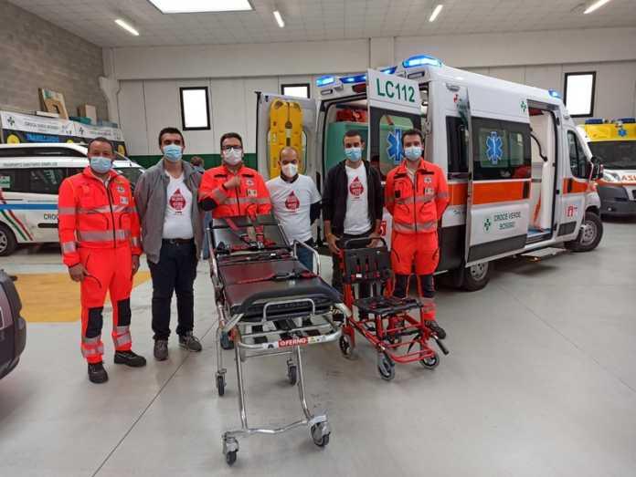 Croce verde bosisio ambulanza