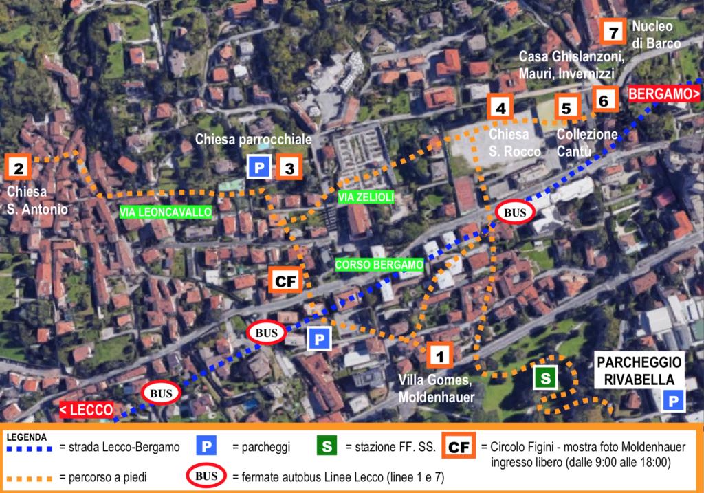 Giornate Primavera FAI 2021 mappa