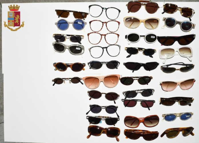 occhiali sequestrati polizia lecco