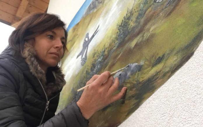 Beatrice Combi, artista di Introbio