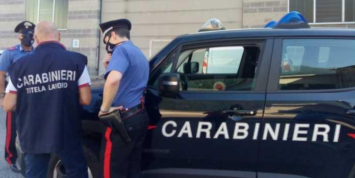 I Carabinieri del nucleo tutela lavoro di Lecco