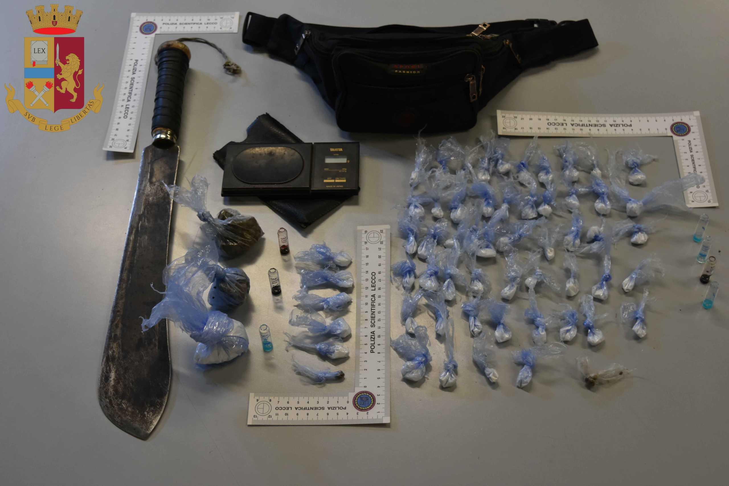 Polizia droga nibionno