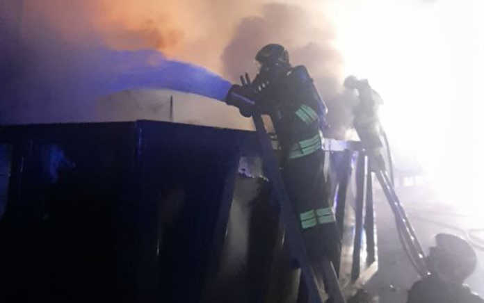 Vigili del fuoco container