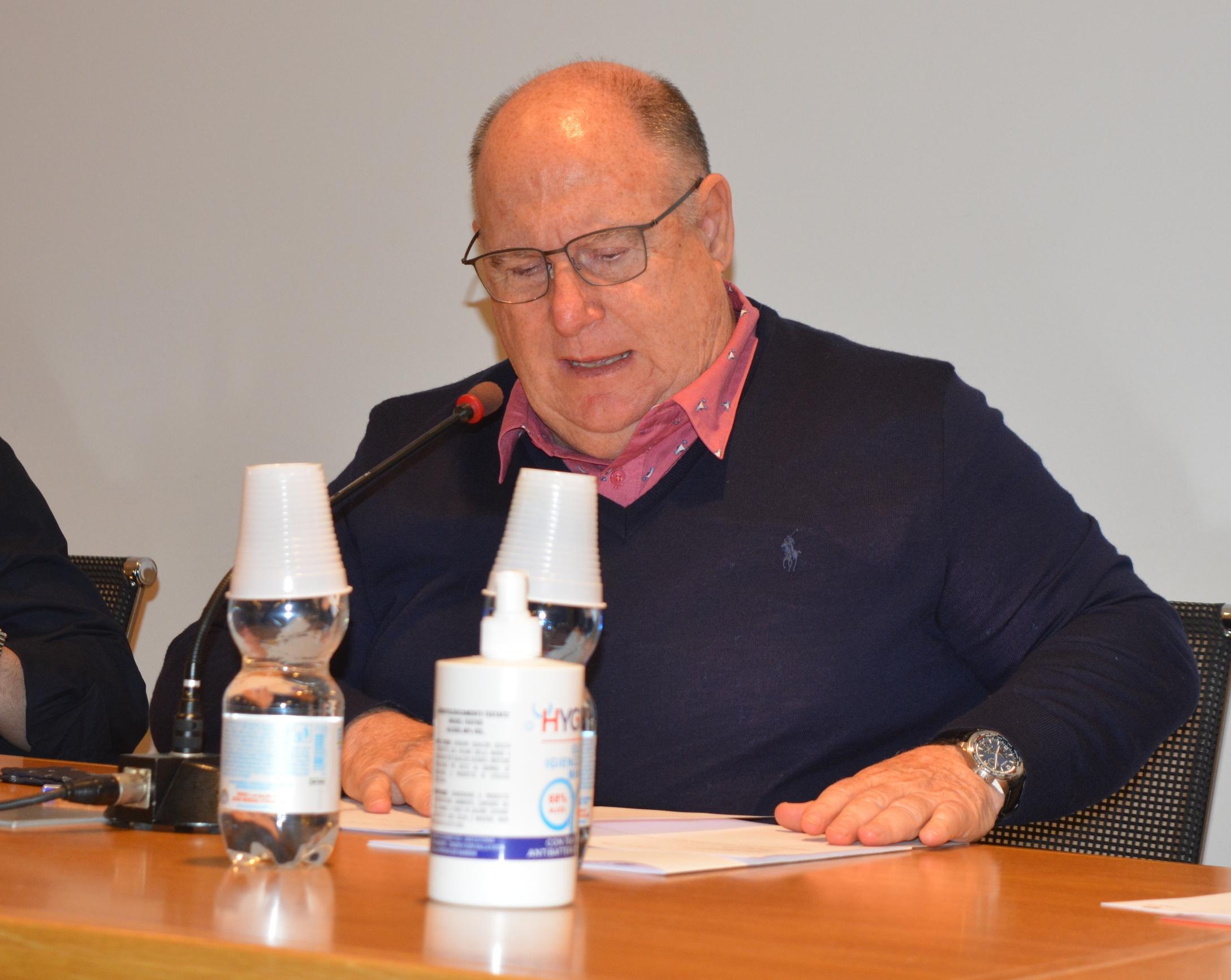 Antonio Peccati confermato presidente per il secondo mandato