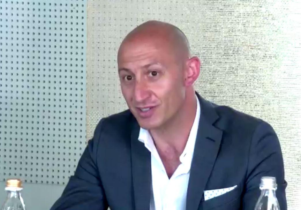 Il sindaco di Lecco, Mauro Gattinoni
