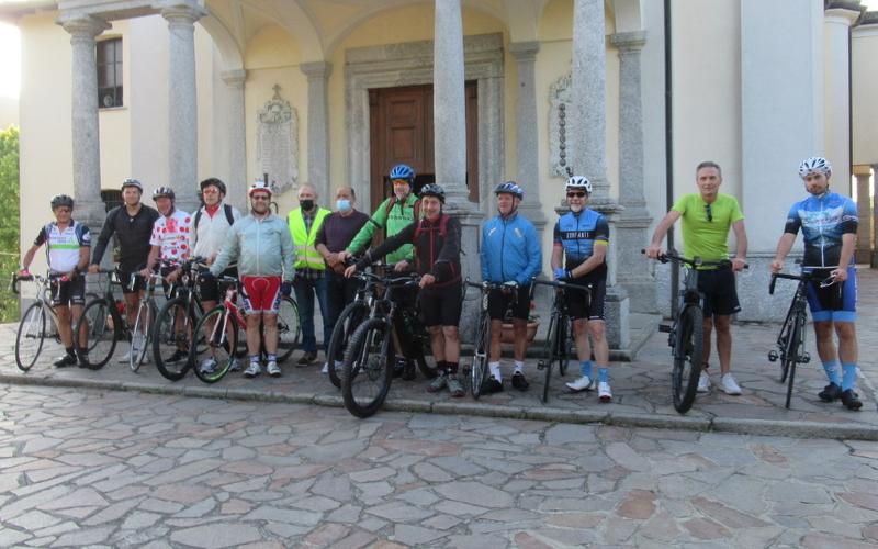 Monte Marenzo Chiavenna Suor Maria Laura bici