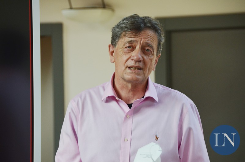 Il sindaco Marco Ghezzi