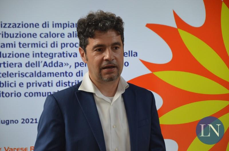 Fabio Fidanza che si è occupato di sviluppare il progetto