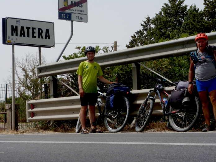 Lecco Matera Bici Pasquale e Gabriele Larosa
