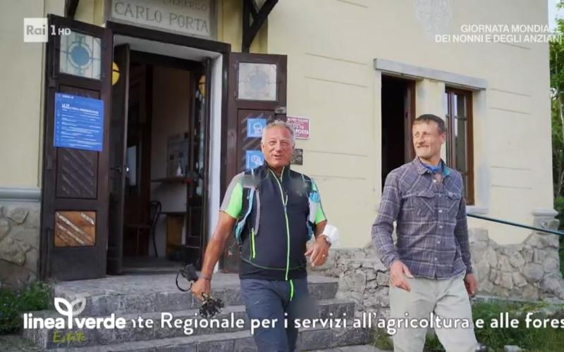 Linea Verde Estate al rifugio Carlo Porta ai Resinelli
