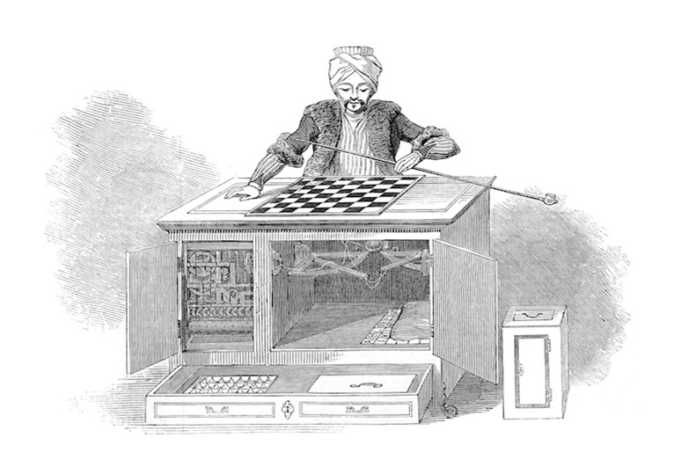 scacchi turco automa