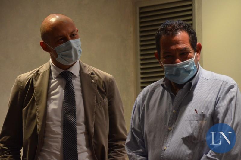 Il sindaco Mauro Gattinoni e Beppe Mambretti