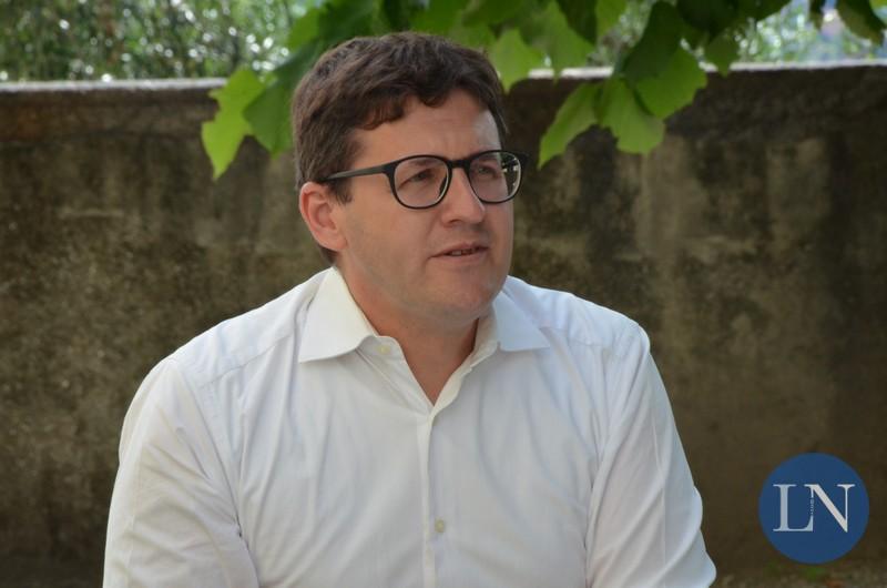 Il sindaco uscente Marco Passoni