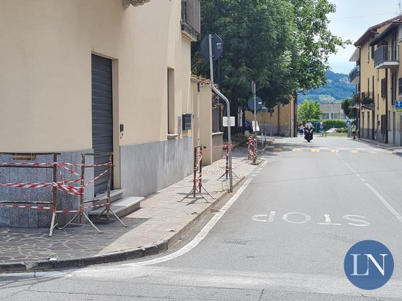 Via Donizetti a Calolziocorte, frazione Pascolo