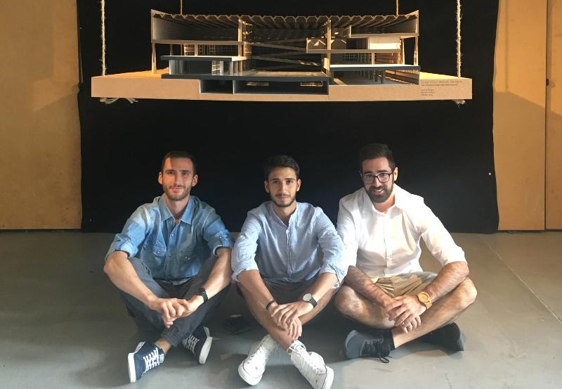 Giorgio Curmà, Mattia Ghisleni, Luca Mangili.