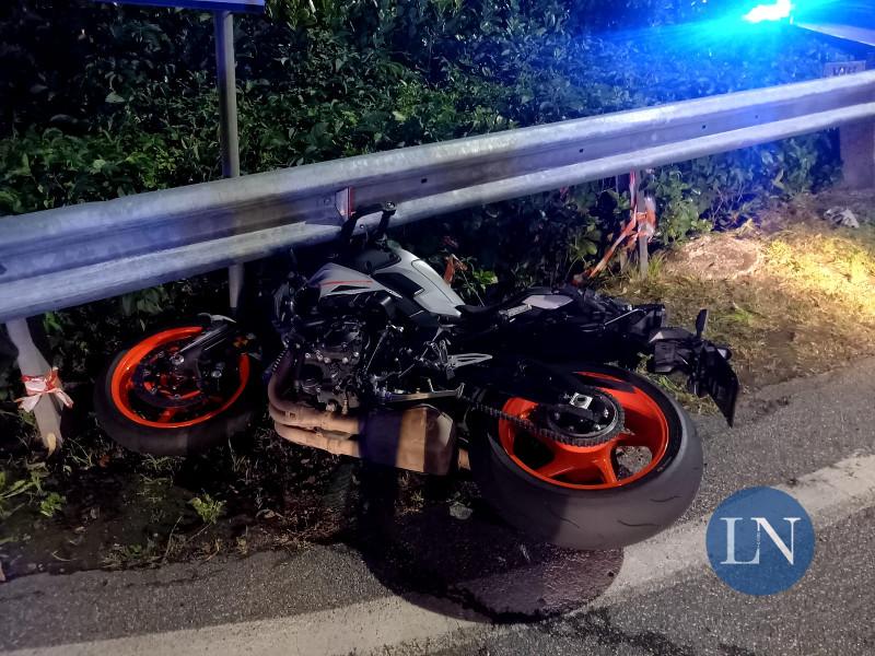 olgiate incidente auto moto