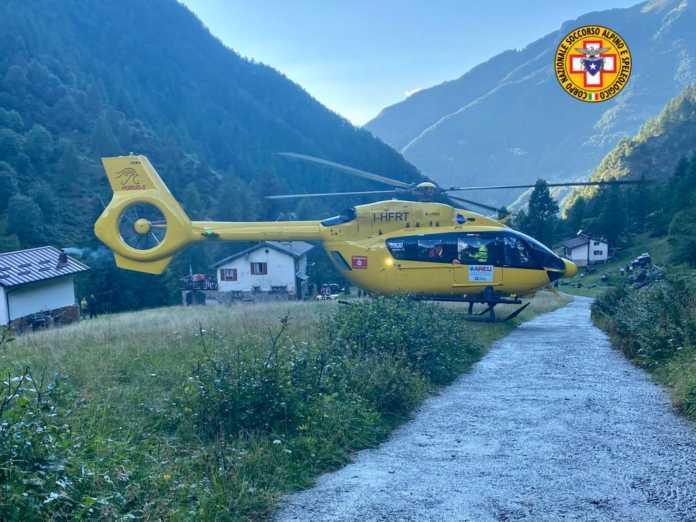 Elicottero Alpe Vegessa