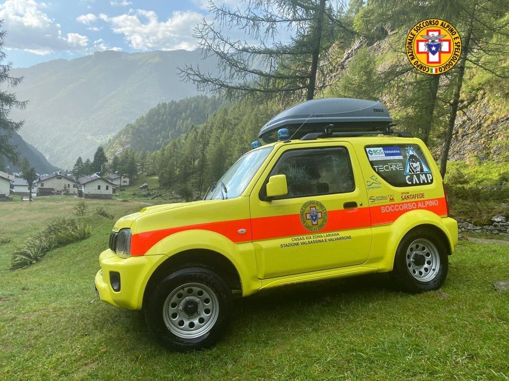 Soccorso alpino jeep