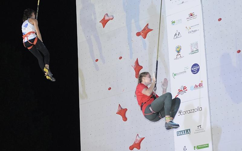 Beatrice Colli arrampicata