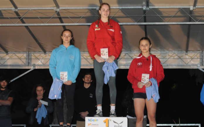 Beatrice Colli sul gradino più alto del podio