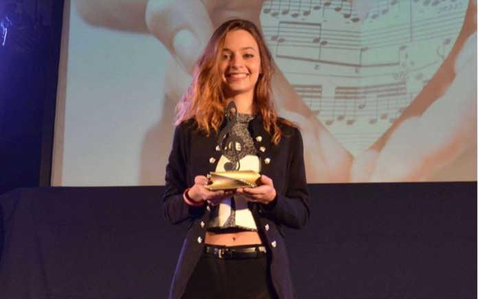 Debora Manenti partecipante del festival risultata vincitrice del festival di Castrocaro nel 2019