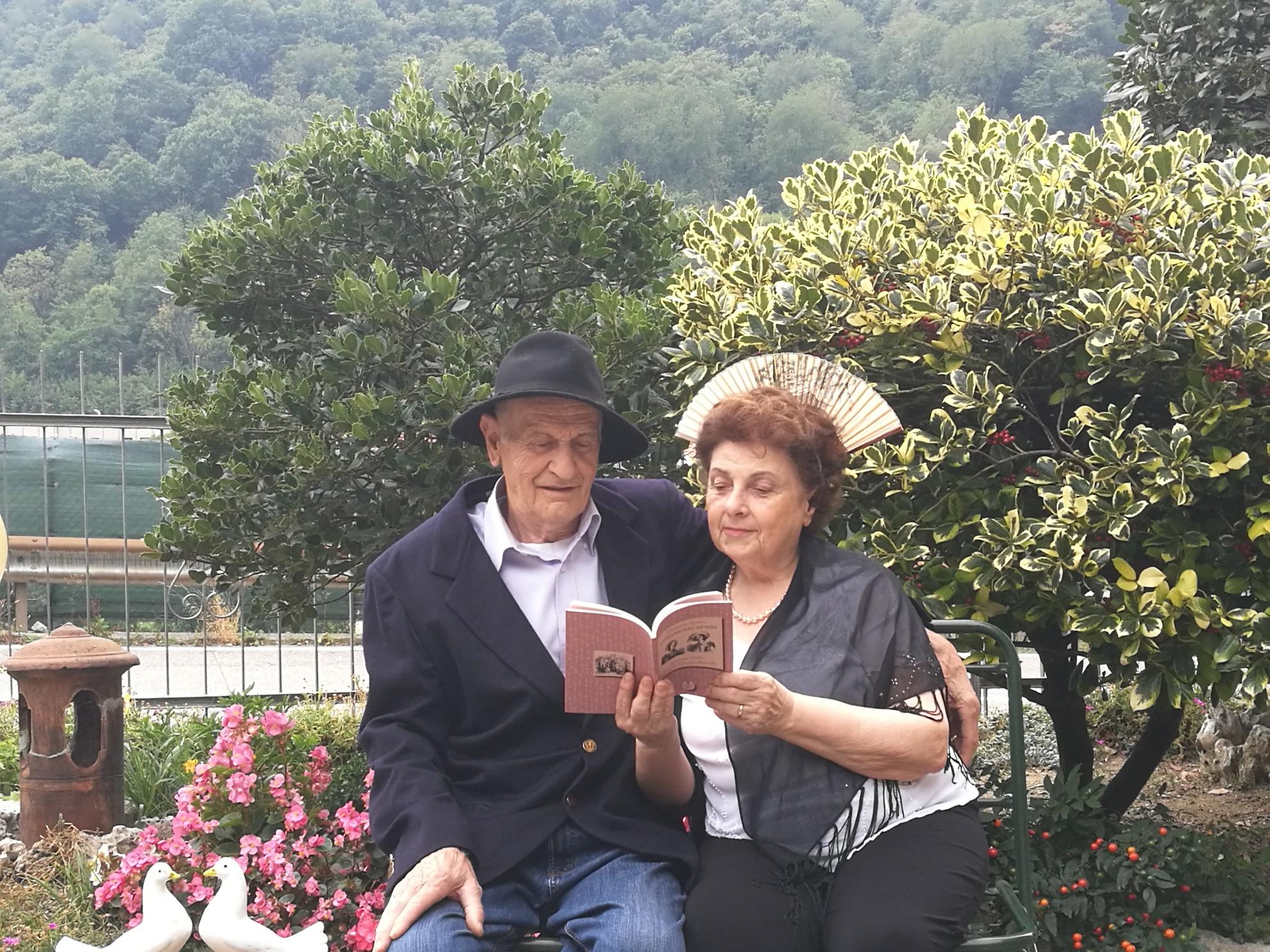 Renzo Burini e Lucia Cristalli di Torre de' Busi