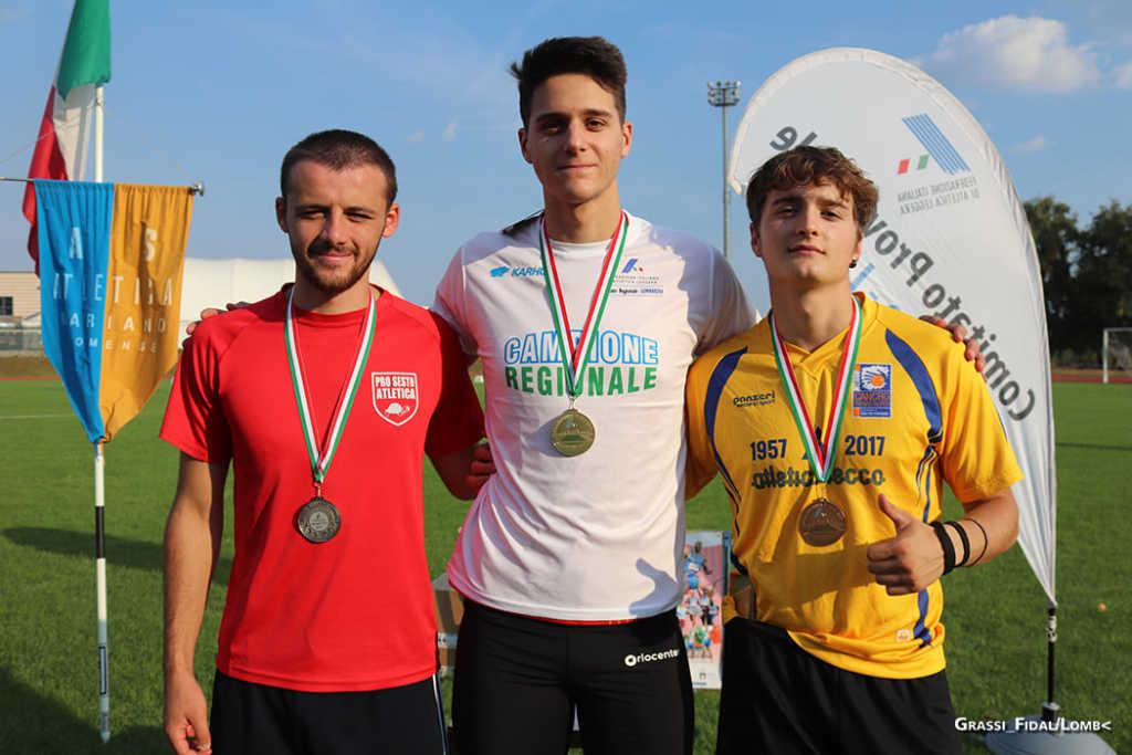 atletica campionati regionali juniores e promesse